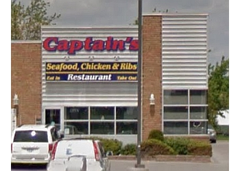 Peterborough fish and chip Captains Seafood Chicken & Rib Restaurant
