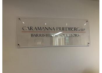 Toronto criminal defense lawyer Caramanna, Friedberg LLP