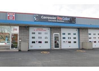 Longueuil auto body shop Carrosserie Deschenes Procolor Longueuil