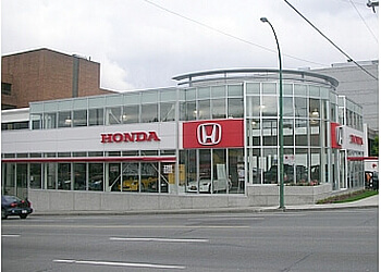Vancouver car dealership Carter Honda