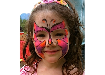 Coquitlam face painting Castle Top Characters