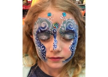 New Westminster face painting Castle Top Characters