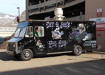 Kamloops food truck Cat & Joe's Pig Rig