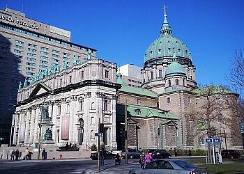 Montreal church Cathédrale Marie-Reine-du-Monde