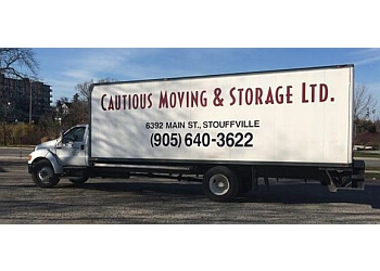 Stouffville moving company Cautious Moving & Storage Ltd.