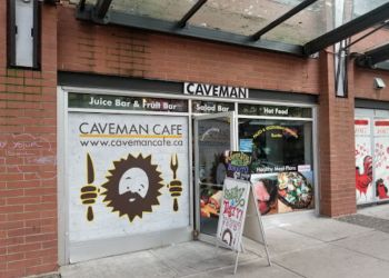 Vancouver cafe Caveman Cafe