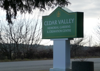 Nanaimo funeral home Cedar Valley Memorial Gardens