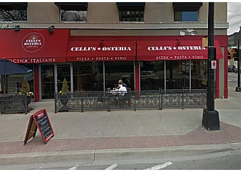 Burlington italian restaurant Celli's Osteria
