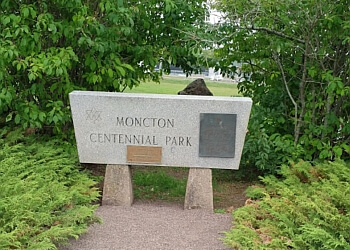 Moncton hiking trail Centennial Park Trail