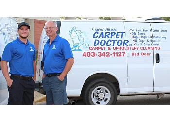 Red Deer carpet cleaning Central Alberta Carpet Doctor Inc.