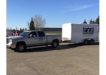 Calgary fencing contractor Central Alberta Fencing Inc.