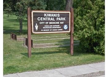Medicine Hat public park Central Park