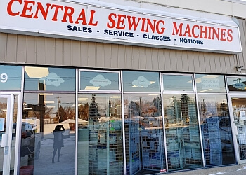 Edmonton sewing machine store Central Sewing Machines Inc.