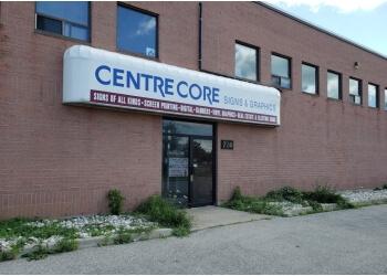 Milton sign company Centre Core Signs & graphics ltd.