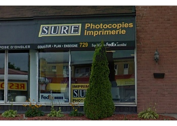 Gatineau printer Centre de photocopies Sure