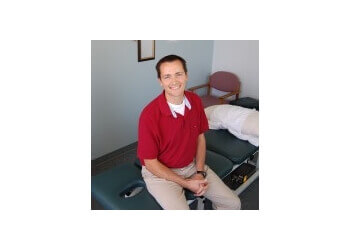 St Albert physical therapist Chad Burden, B.Sc PT