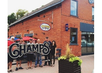 Peterborough sports bar Champs sports bar