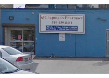 London pharmacy Chapman's Pharmacy