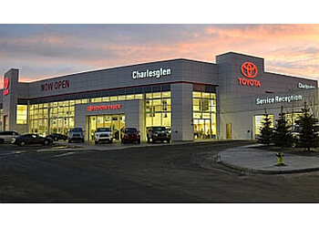 Calgary car dealership Charlesglen Toyota