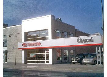 Montreal car dealership Chasse Toyota