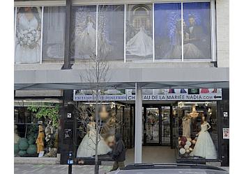 Montreal bridal shop Chateau de la mariée Nadia