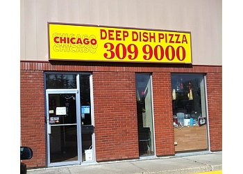Red Deer pizza place Chicago Deep Dish Pizza