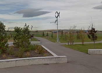 Airdrie public park Chinook Winds Regional Park