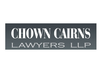 St Catharines bankruptcy lawyer Chown Cairns Lawyers LLP