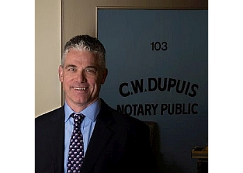 New Westminster notary public Chris Dupuis
