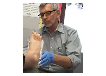 Barrie podiatrist Chris Hasting, DPM