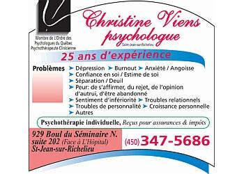 Saint Jean sur Richelieu psychologist Christine Viens Psychologue