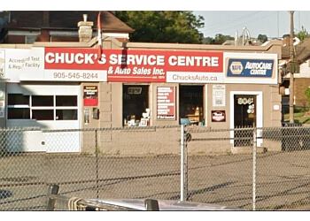 Hamilton car repair shop Chucks Service Centre