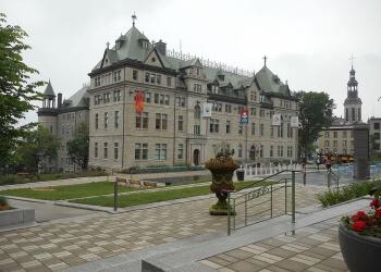 Quebec landmark City Hall of Quebec City