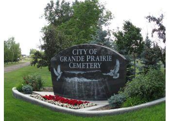 Grande Prairie landmark City of Grande Prairie Cemetery