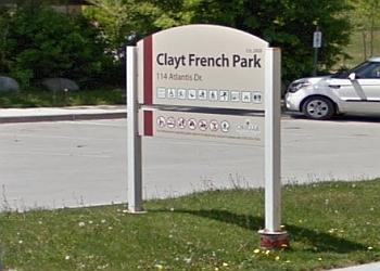 Orillia public park Clayt French Park