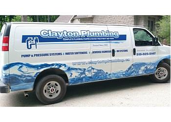 Orangeville plumber Clayton Plumbing
