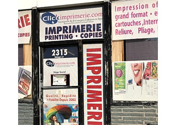 Montreal printer Clickimprimerie inc.
