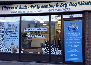 Calgary pet grooming Clippers N' Suds