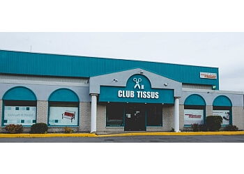 Quebec sewing machine store Club Tissus