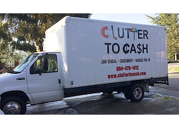 Maple Ridge junk removal Clutter To Cash