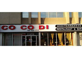 Edmonton mediterranean restaurant Co Co Di