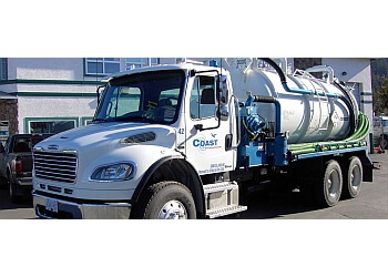 Nanaimo septic tank service Coast Environmental ltd.