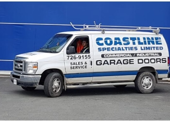St Johns garage door repair Coastline Specialties Ltd.