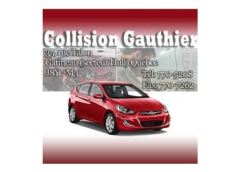 Gatineau auto body shop Collision Gauthier