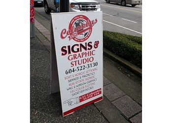 New Westminster sign company Columbus Signs