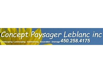 Mirabel landscaping company  Concept Paysager Leblanc Inc.