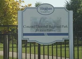 Vaughan public park Concord Thornhill Regional Park