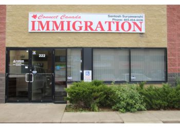 Calgary immigration consultant Connect Canada Immigration Services Inc.