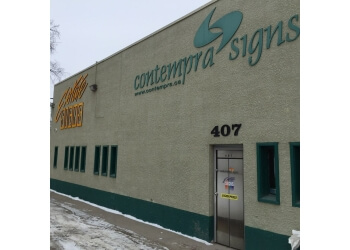 Winnipeg sign company Contempra Signs