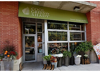 Toronto florist Cool Green & Shady